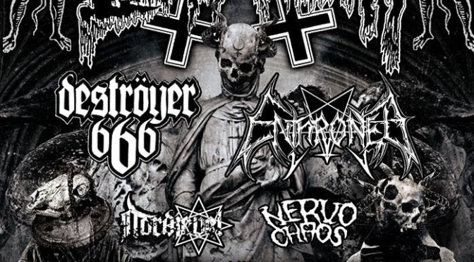 Deströyer 666 kick off European tour