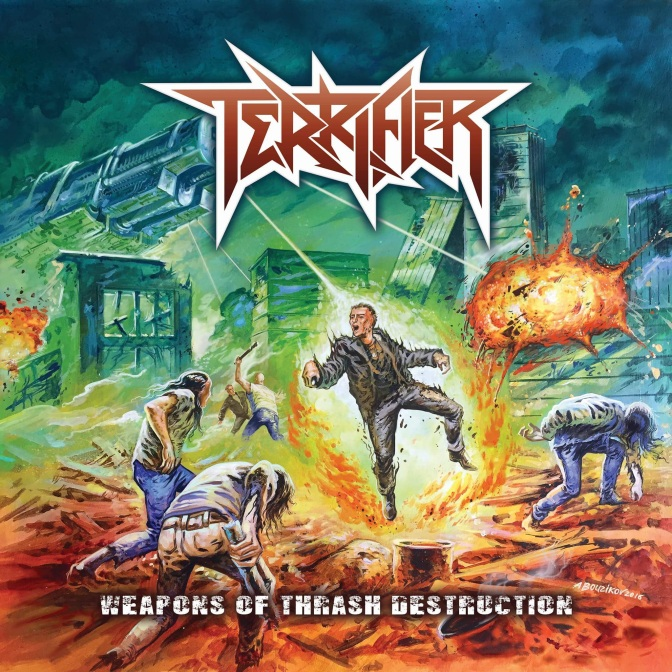 TERRIFIER Confirmed To Play 2018 NYDM SPRING BASH + New Album Out via Test Your Metal Records