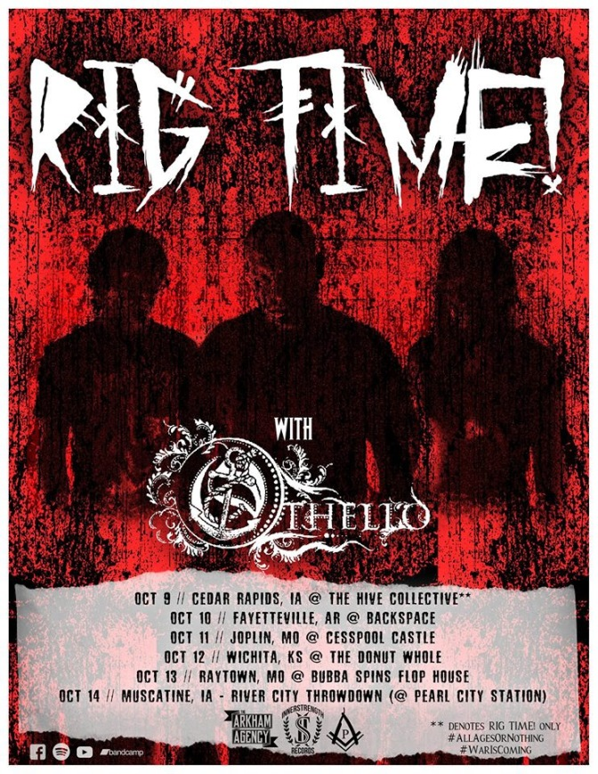 """RIG TIME! Release """"Blister"""" Video + Tour Dates Announced"""
