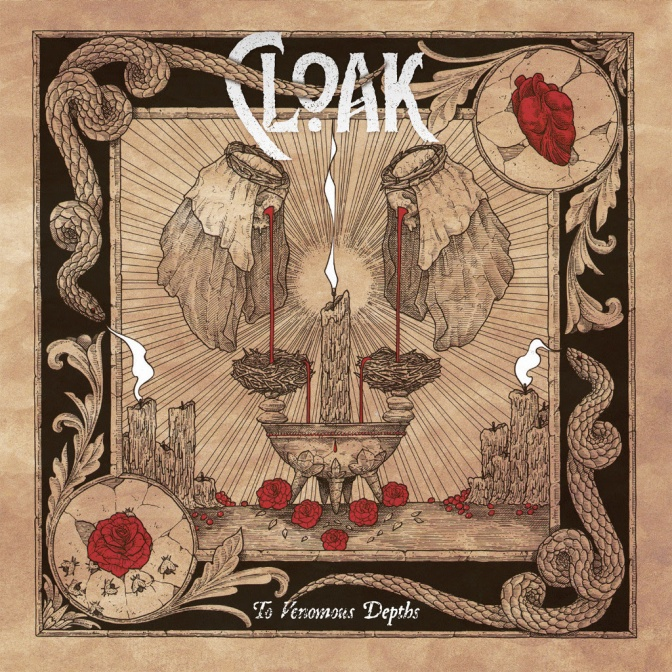 Cloak premiere third song of forthcoming album