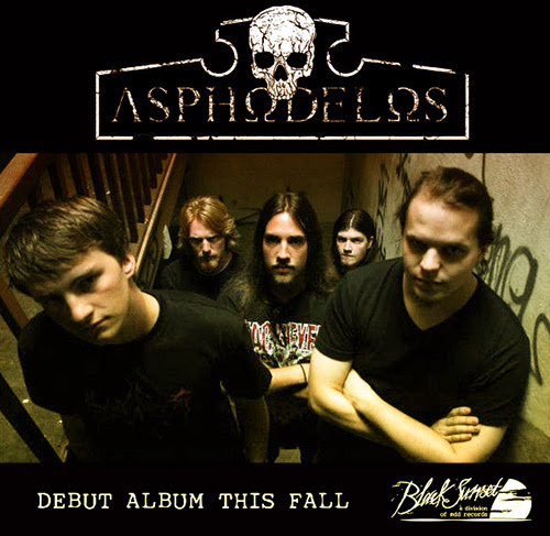 ASPHODELOS sign with BLACK SUNSET; New release schedule for this fall!