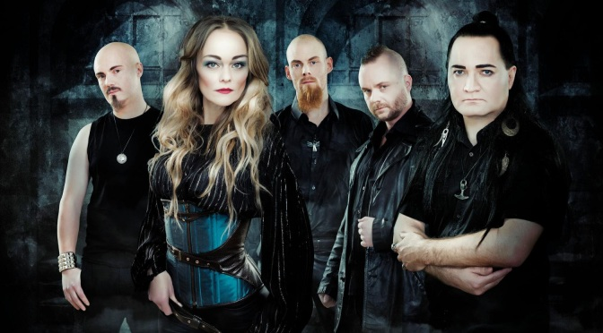 """AMBERIAN DAWN – Premiere Official Music Video For Track """"I'm The One""""!"""