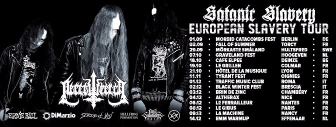 NECROWRETCH kick off European live dates