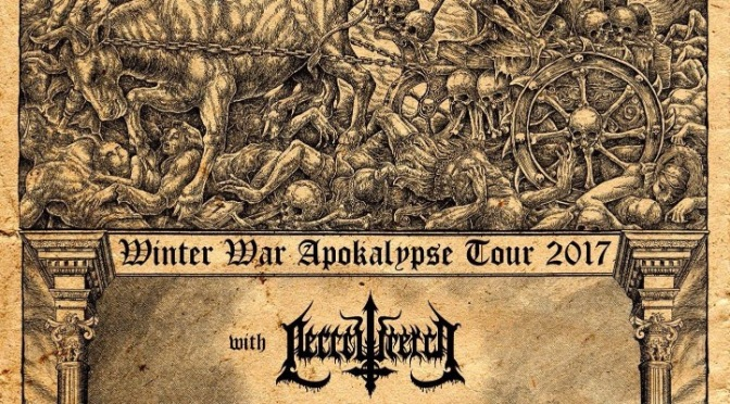 Necrowretch CANCEL Mini-tour with Interment