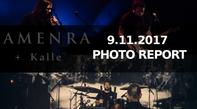 PHOTO REPORT: Amenra + Kalle /Nov. 9th  @ La Fabrika , Prague