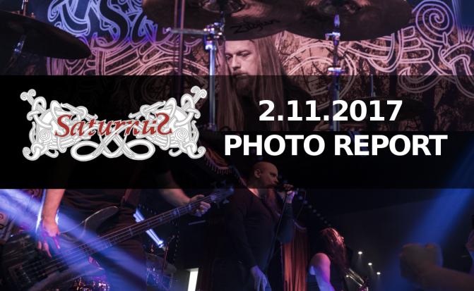 PHOTO REPORT: SATURNUS (De) Nov 2, 2017 – LIVE IN DUBAI