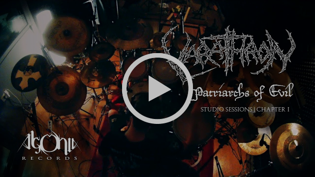 "VARATHRON reveal first video from ""Patriarchs Of Evil"" recording sessions"