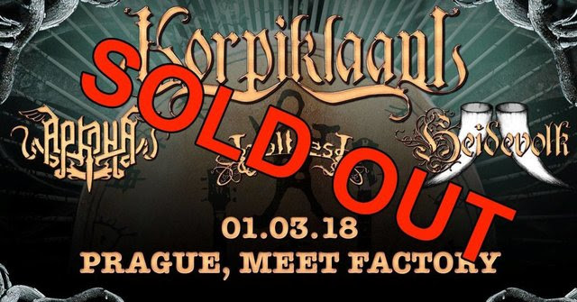 KORPIKLAANI – new album in progress + first sold out show + trailer online!