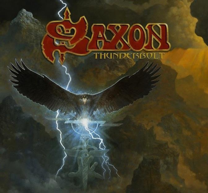 "SAXON Announce New Album ""Thunderbolt"""