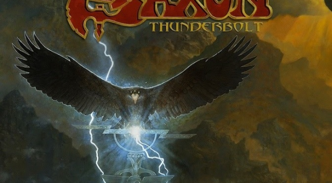 "SAXON Announce New Album ""Thunderbolt"""