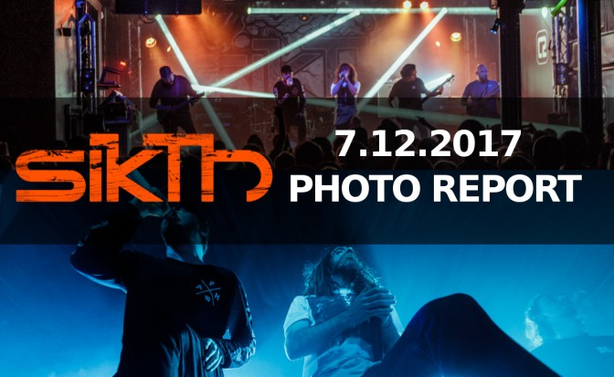 PHOTO REPORT: SikTh + Press To Meco, Devil Sold His Soul –  December 7, 2017 @ Concorde 2 , Brighton