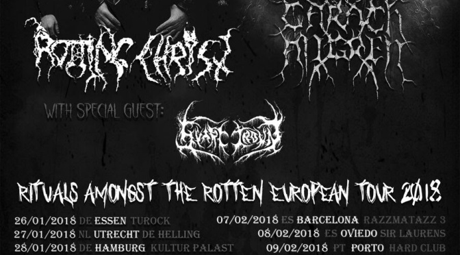 Carach Angren and Rotting Christ update schedule of their co-headling tour