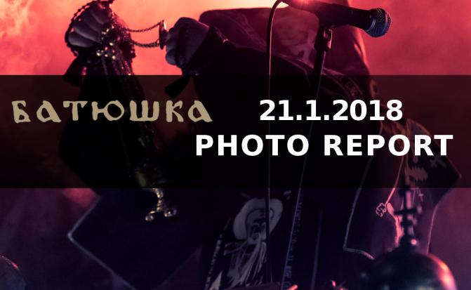 PHOTO REPORT: Batushka + supports LIVE IN Futurum club, Prague,  JAN 23, 2018