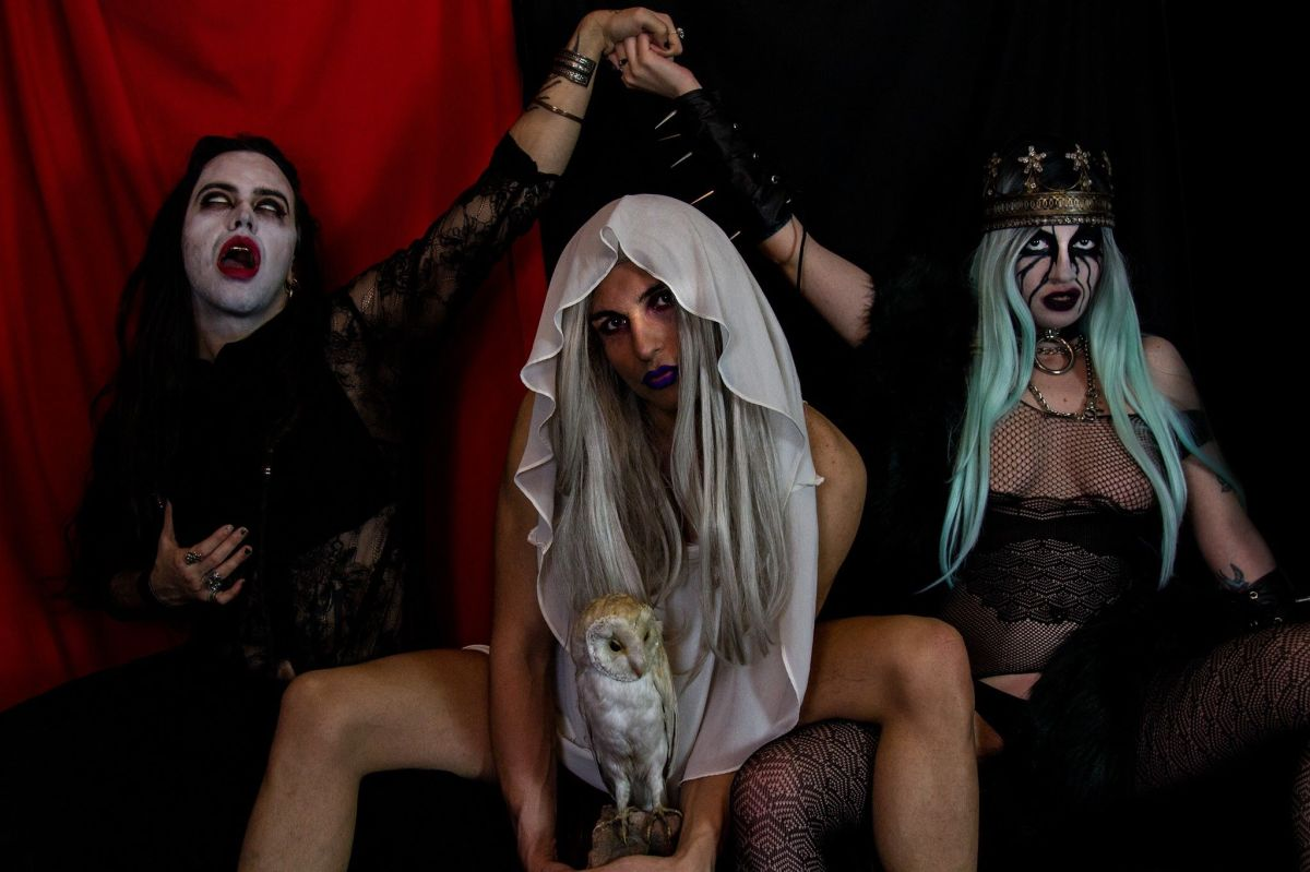 All Trans Extreme Pink Metal Band PEOSPHOROS Who Are Against Black Metal Announce Debut Album