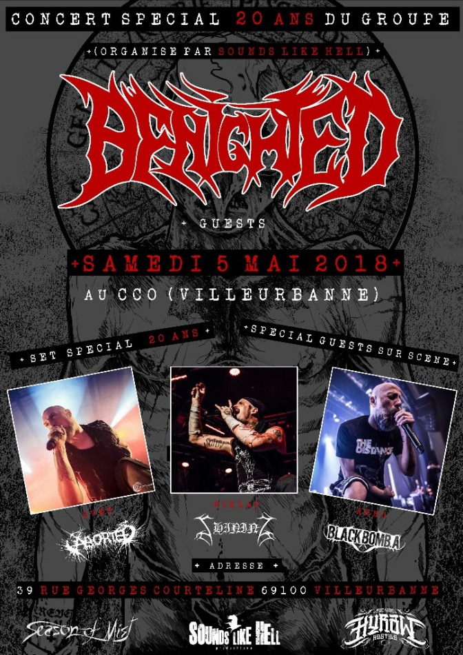 Benighted announce special anniversary show and festival dates