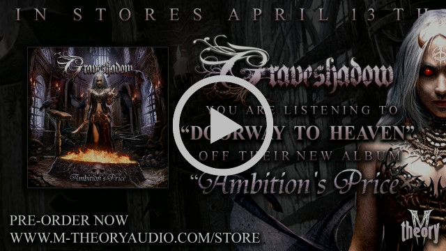 GRAVESHADOW unveils new song from M-Theory Audio debut