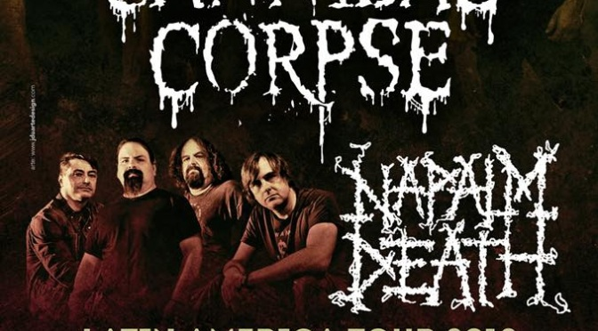 "NAPALM DEATH – New single off ""Coded Smears And More Uncommon Slurs"" compilation launched; Massive touring update!"
