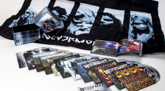 "Century Media Records reveal NEVERMORE's ""The Complete Collection"""