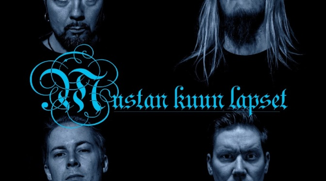 "Finnish dark metallers Mustan Kuun Lapset Offer Pre-Order for  their new single ""Ikaros"" 7″ vinyl release"