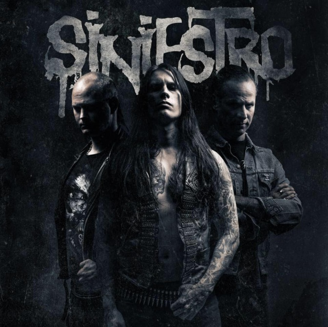 "Swedish Black/Thrash Trio SINIESTRO Premieres ""ARCTIC BLOOD"""