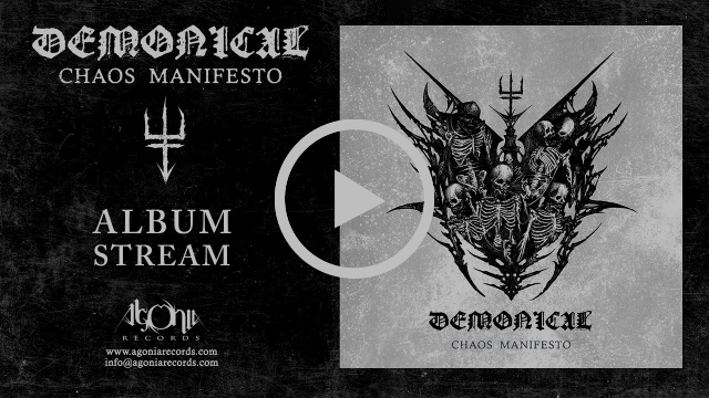 "DEMONICAL – ""Chaos Manifesto"" Advance Album Stream"
