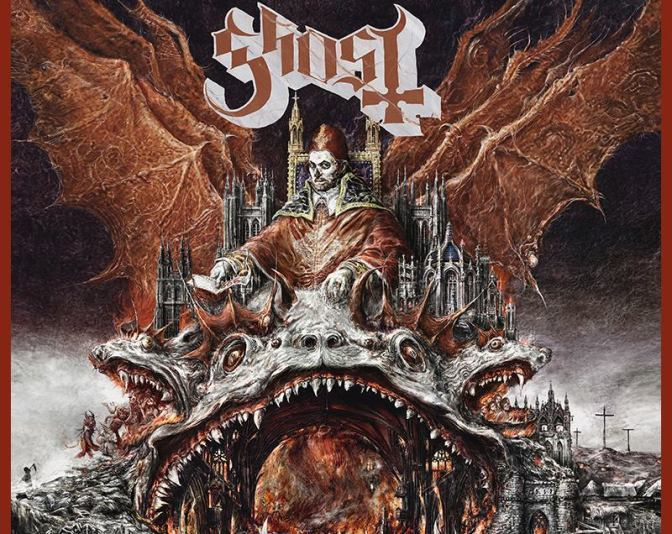 "GHOST – New single ""RATS"" teaser and Cover Art Leaked ?"