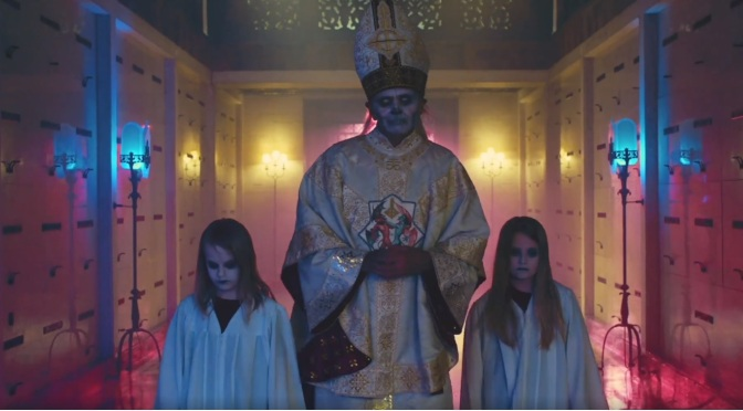 """NEW BLOOD"" : GHOST Tease PAPA EMERITUS ZERO"