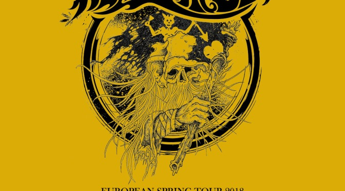 Southern rock and metal meet raw humour, old religion, as well as weed and whiskey. WEEDEATER on the road in Europe