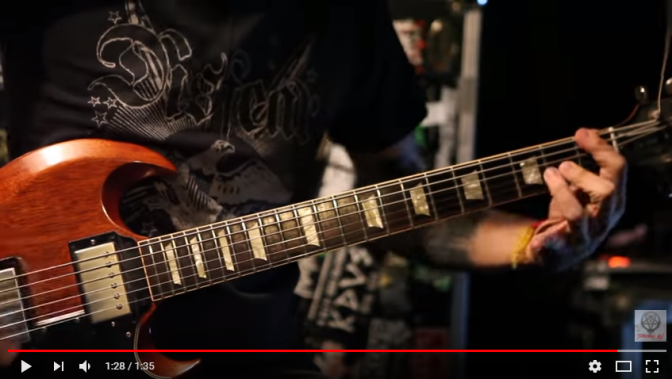 Finland's Grindcore act Rotten Sound release guitar play-through and kick off EU tour