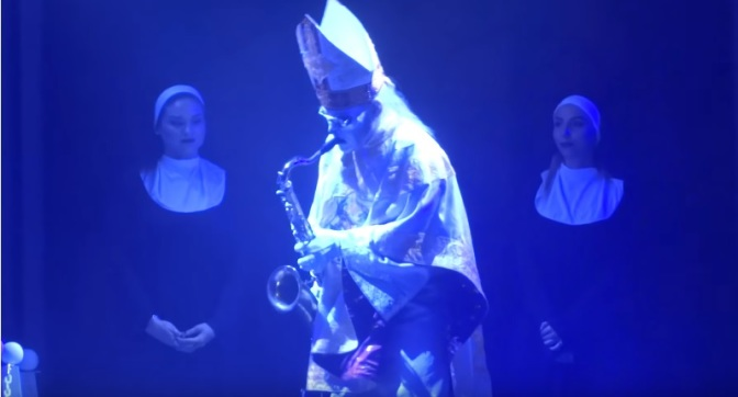 See GHOST Performs  New Songs At 'Rats! On The Road' Tour