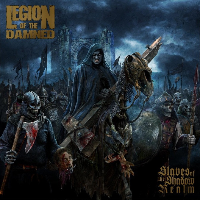 "LEGION OF THE DAMNED – Revealing New Album ""Slaves of the Shadow Realm"""
