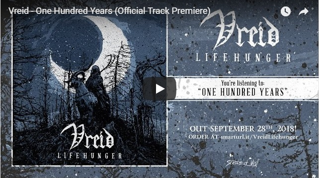 "VREID Premiere Third Track ""One Hundred Years"" From Upcoming Album ""Lifehunger"""