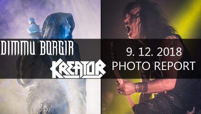 PHOTO REPORT: DIMMU BORGIR + KREATOR LIVE Forum Karlin, PRAGUE, dec 9, 2018