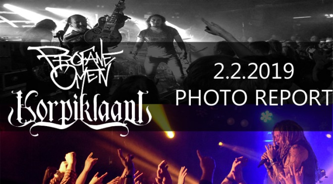 PHOTO REPORT: PROFANE OMEN AND KORPIKLAANI