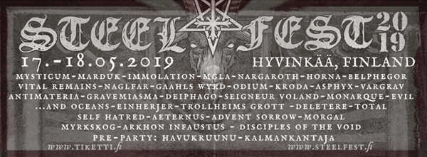 Steelfest Open Air 2019 Is Soon Upon Us