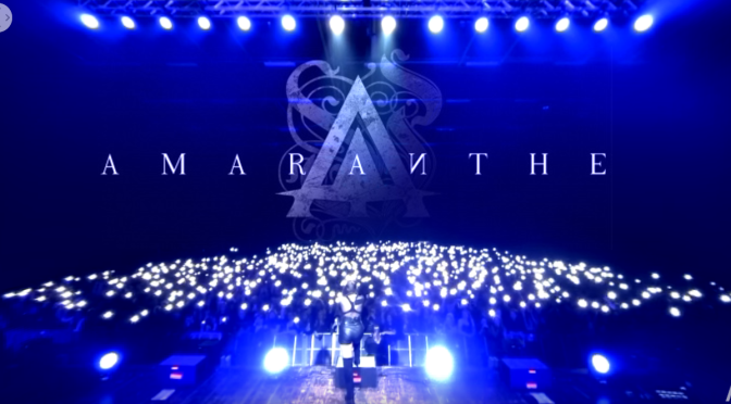 WATCH AMARANTHE  'Amaranthine' VR 360° live / Helsinki Ice Hall 16.2.2019