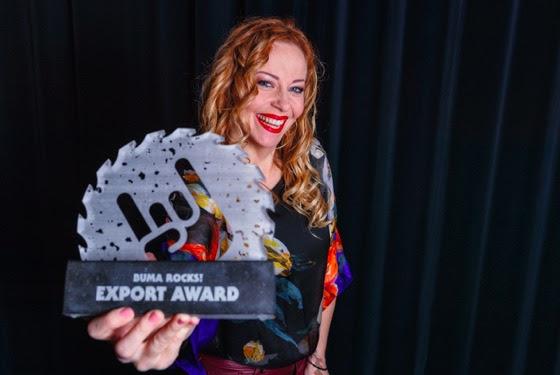Anneke van Giersbergen receives the Buma ROCKS! Export Award 2019