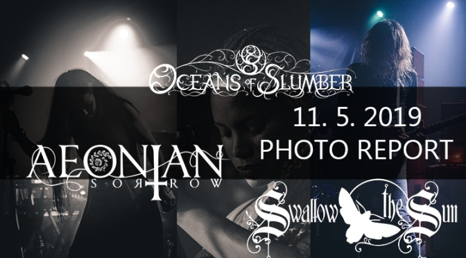 PHOTO REPORT: SWALLOW THE SUN, OCEANS OF SLUMBER, AEONIAN SORROW – PRAGUE MAY 11TH 2019