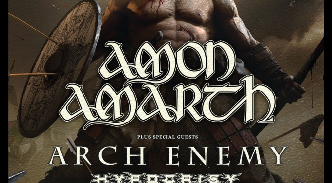 ARCH ENEMY announce European tour dates supporting AMON AMARTH