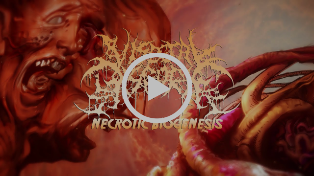 VISCERAL DISGORGE stream new track 'Necrotic Biogenesis'