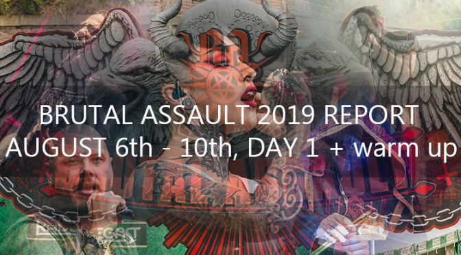 REPORT: BRUTAL ASSAULT  #24 – DAY 1st (0)