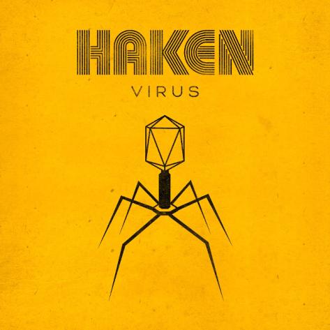 Haken - Virus - album cover
