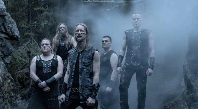 "Ensiferum launches lyric video for ""Run from the Crushing Tide"""