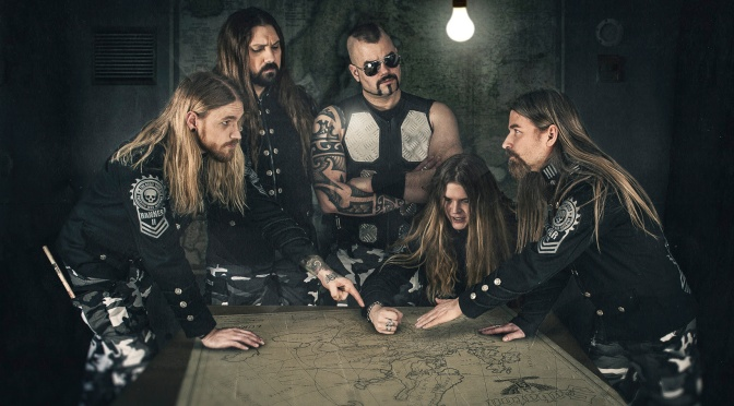 SABATON reveal animated video for 'No Bullets Fly' & celebrate reaching 1M YouTube subscribers