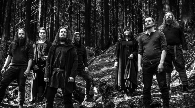 Finnish folk metal band Elvenscroll release first single & music video from their upcoming EP release