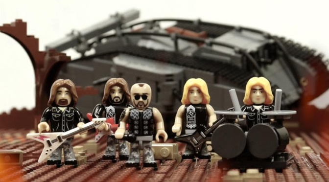 SABATON release new building block video clip for 'The Future Of Warfare'