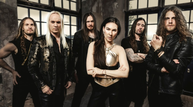 "AMARANTHE release music video for 'Fearless' + ""Manifest"" ALBUM out now"