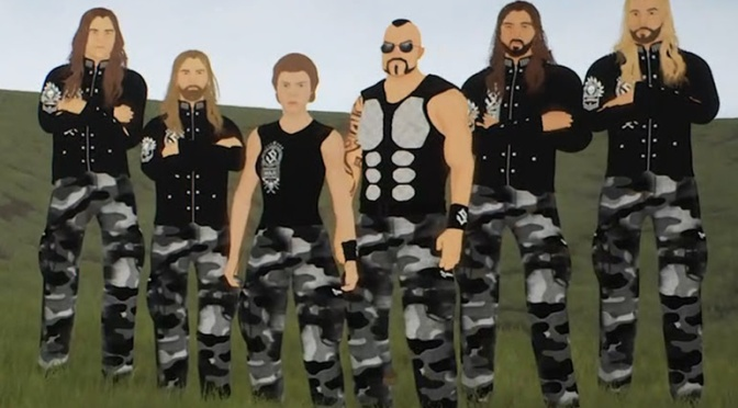 SABATON Reveal 'Night Witches' Animated Video