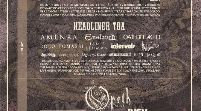 ARCTANGENT FESTIVAL reveal almost all of its 2021 line up including headliners Opeth and Cult Of Luna / August 18th – 21st