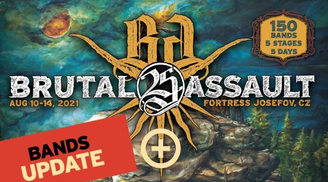 Brutal Assault 25 Bands update